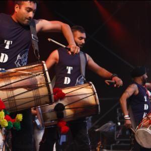 Dhol Foundation & more for Wychwood Festival 2017