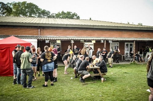 around the festival site: Beermageddon 2015
