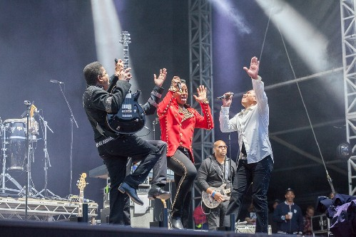 The Jacksons: Bestival 2015