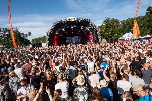 around the festival site: Blissfields 2015