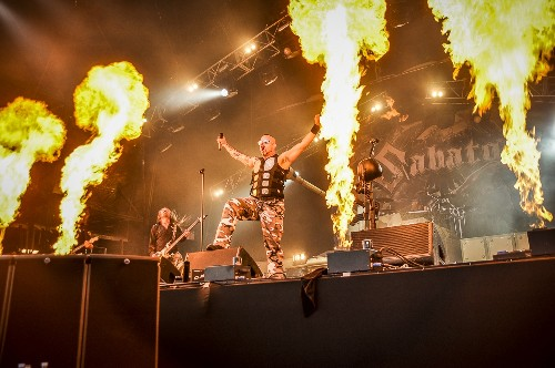 Sabaton: Bloodstock Open Air 2015