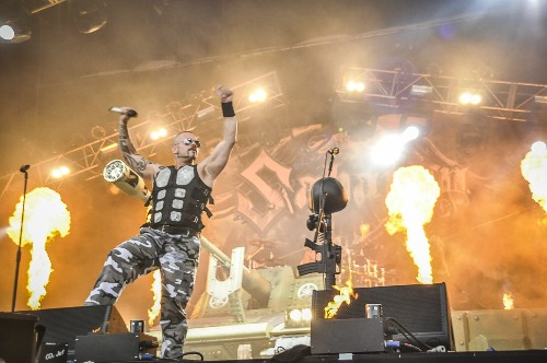 Sabaton @ Bloodstock Open Air 2015
