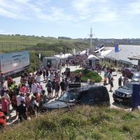 around the festival site (Fistral)