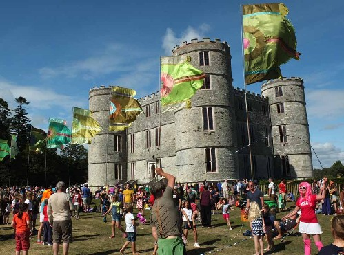 around the festival site: Camp Bestival 2015