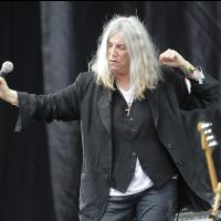 Patti Smith & her band