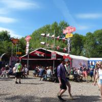 around the festival site (Unfairground)