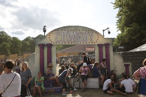 around the festival site (Sunday): Latitude 2015