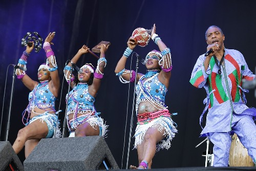 Femi Kuti and the Positive Force: Latitude 2015