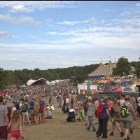 around the festival site (Friday)