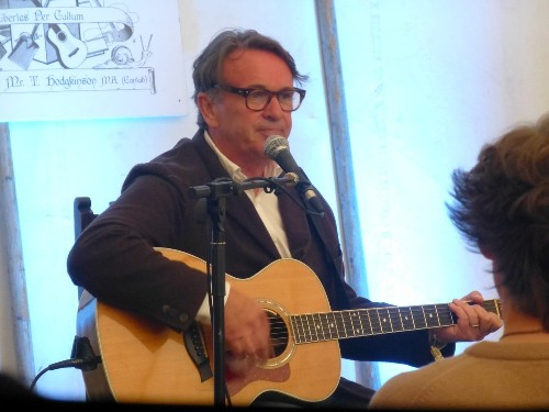 Chris Difford @ Port Eliot Festival 2015
