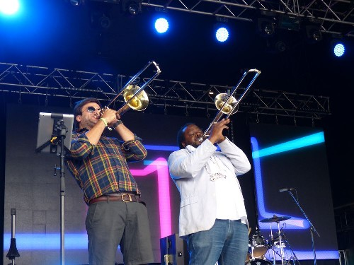 Brassroots @ The Secret Garden Party 2015