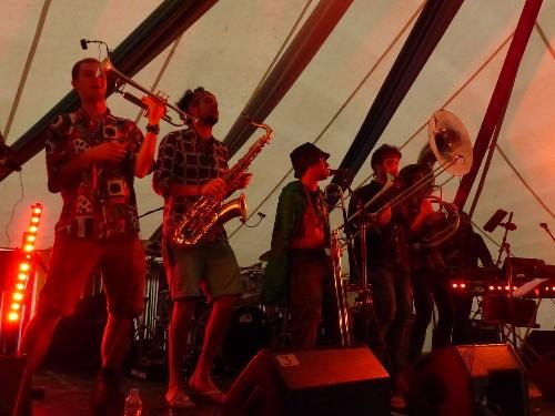 The Brass Funkeys @ The Secret Garden Party 2015