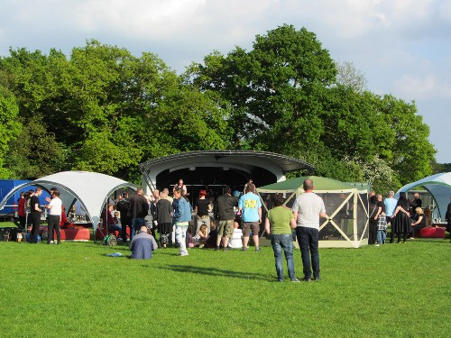 around the festival site: Strummercamp 2015