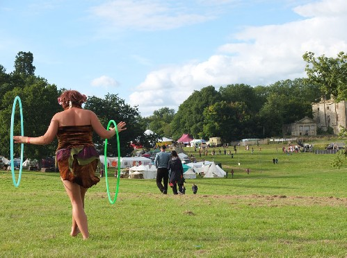 around the festival site: The Green Gathering 2015