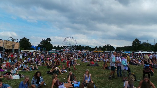 around the festival site: V Festival (Staffordshire) 2015