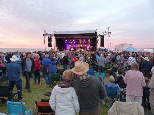 around the festival site: Watchet Music Festival 2015