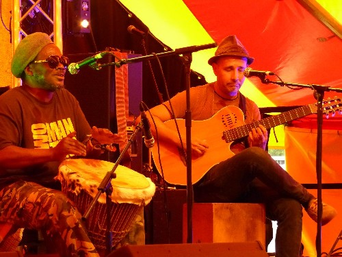 Two Man Ting @ Watchet Music Festival 2015