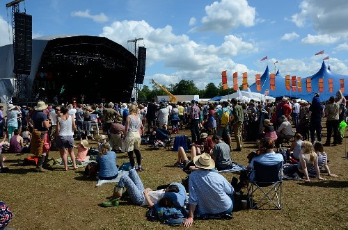 around the festival site: WOMAD 2015