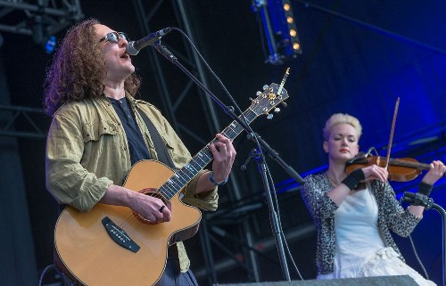 The Wonder Stuff: Wychwood Music Festival 2015
