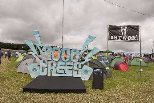 around the festival site: 2000trees Festival 2016