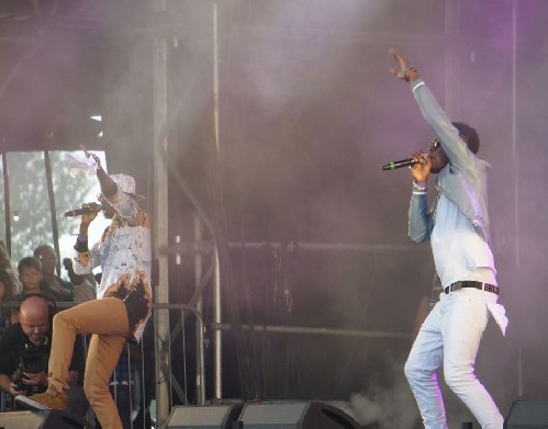 Reggie N Bollie @ The Big Feastival 2016