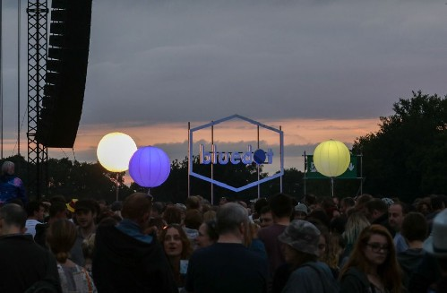 around the festival site: Bluedot 2016