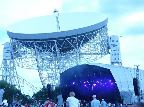 the Lovell Telescope on the move