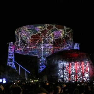 Lovell Telescope projection artist & more arts & culture for bluedot 2017