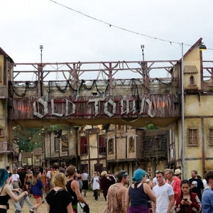 folk-punk in Oldtown for Boomtown Fair 2018