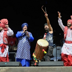 Dhol Foundation for East Anglia's FolkEast 2017