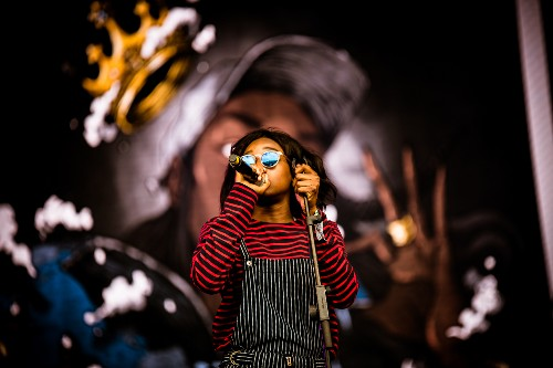 Little Simz @ Glastonbury Festival 2016