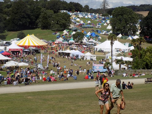 around the festival site: Port Eliot Festival 2016