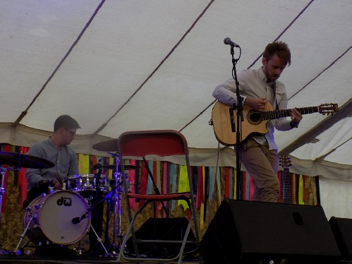 Will McNicol and Luke Selby @ Port Eliot Festival 2016