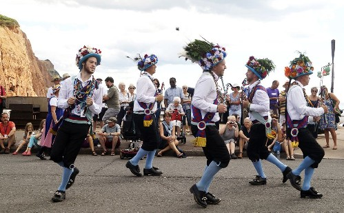 around the town (Morris and Dance teams)