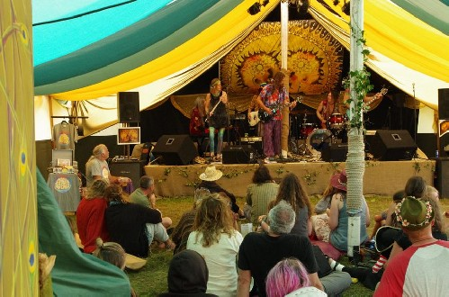 around the festival site: The Green Gathering 2016