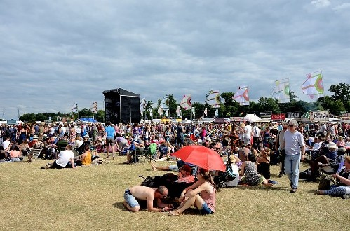 around the festival site: WOMAD 2016