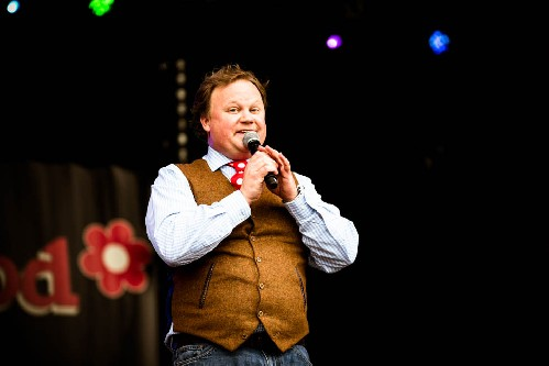 Justin Fletcher aka Mr Tumble: Wychwood Music Festival 2016
