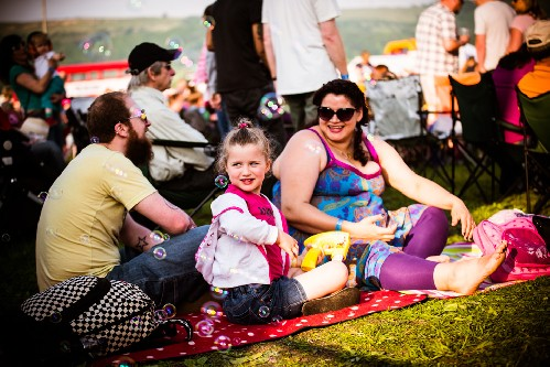 around the festival site: Wychwood Music Festival 2016