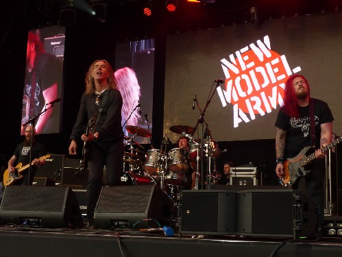 New Model Army @ Beautiful Days 2017