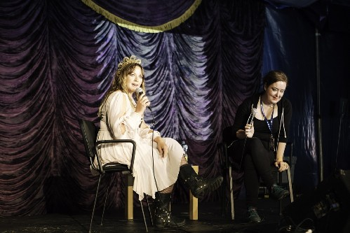 Charlotte Church & Dawn Foster @ The Green Man Festival 2017