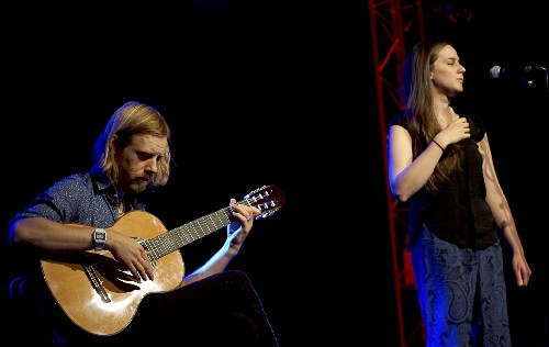 Josienne Clarke and Ben Walker @ Sidmouth Folk Week 2017
