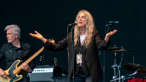 Patti Smith @ All Points East 2018