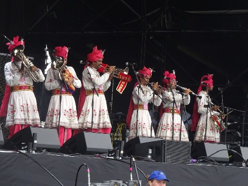 The Rajasthan Heritage Brass Band @ Bluedot 2018