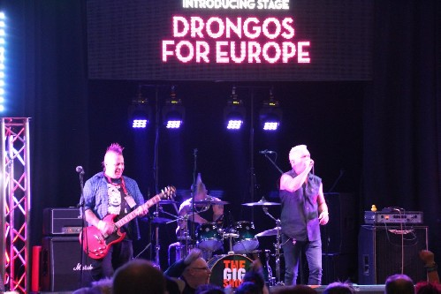 Drongos for Europe @ The Great British Alternative Music Festival 2018
