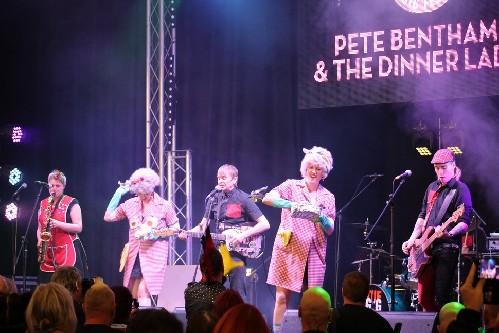 Pete Bentham & The Dinner Ladies @ The Great British Alternative Music Festival 2018