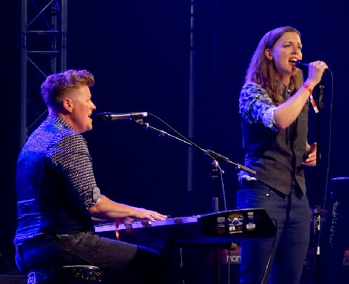 O'Hooley & Tidow @ Shrewsbury Folk Festival 2018