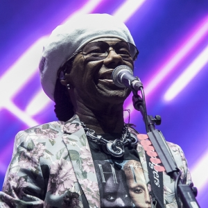 tickets on sale for Nile Rodgers & CHIC at Piece Hall, Halifax in June