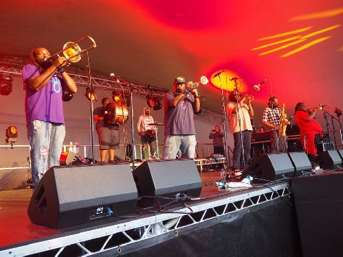 Hot 8 Brass Band @ Doune The Rabbit Hole 2019