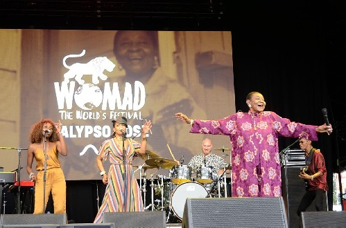 Calypso Rose @ WOMAD 2019